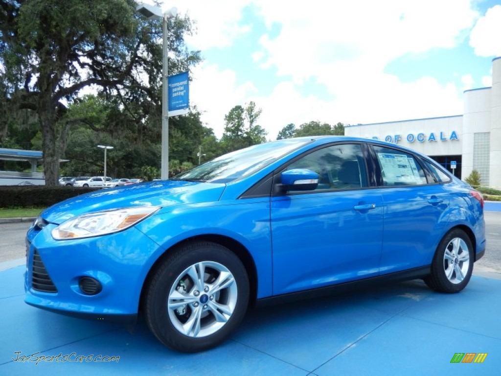2014 Ford Focus SE Sedan in Blue Candy - 127316 | Jax ...