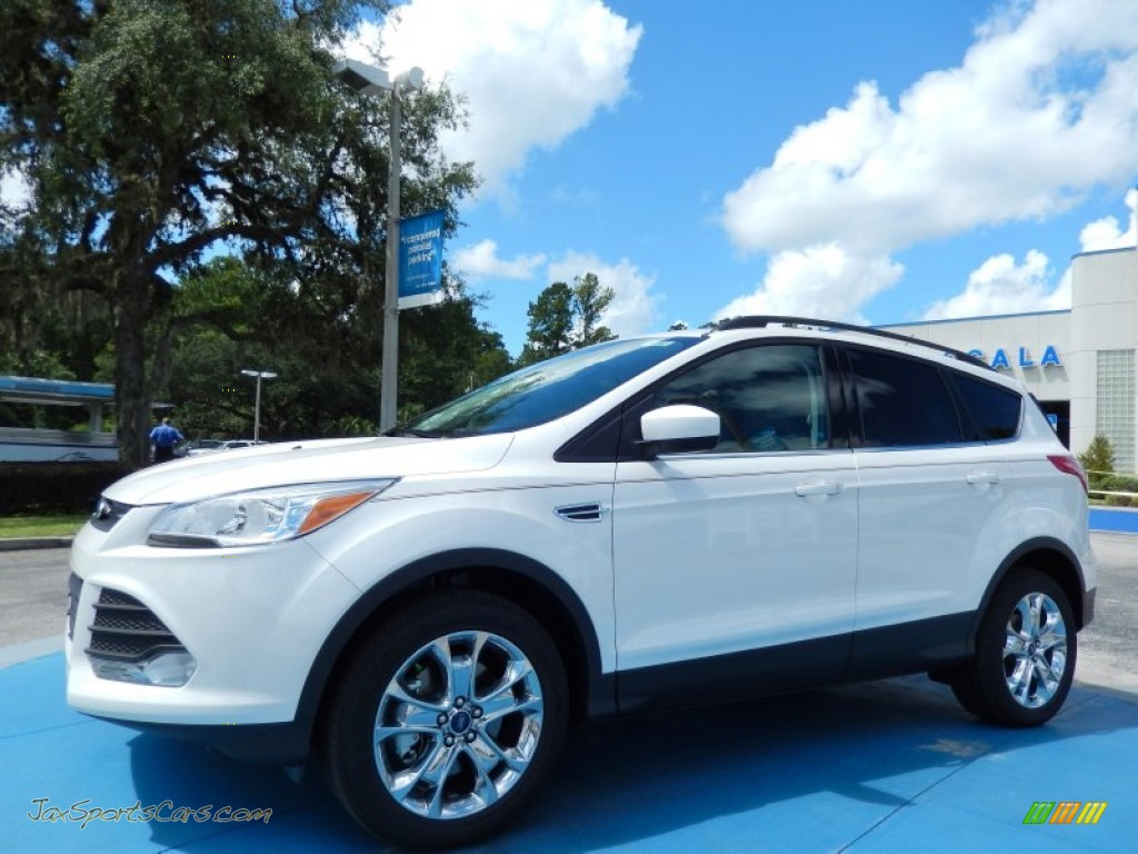 2014 ford escape se 2 0l ecoboost in white platinum. Black Bedroom Furniture Sets. Home Design Ideas
