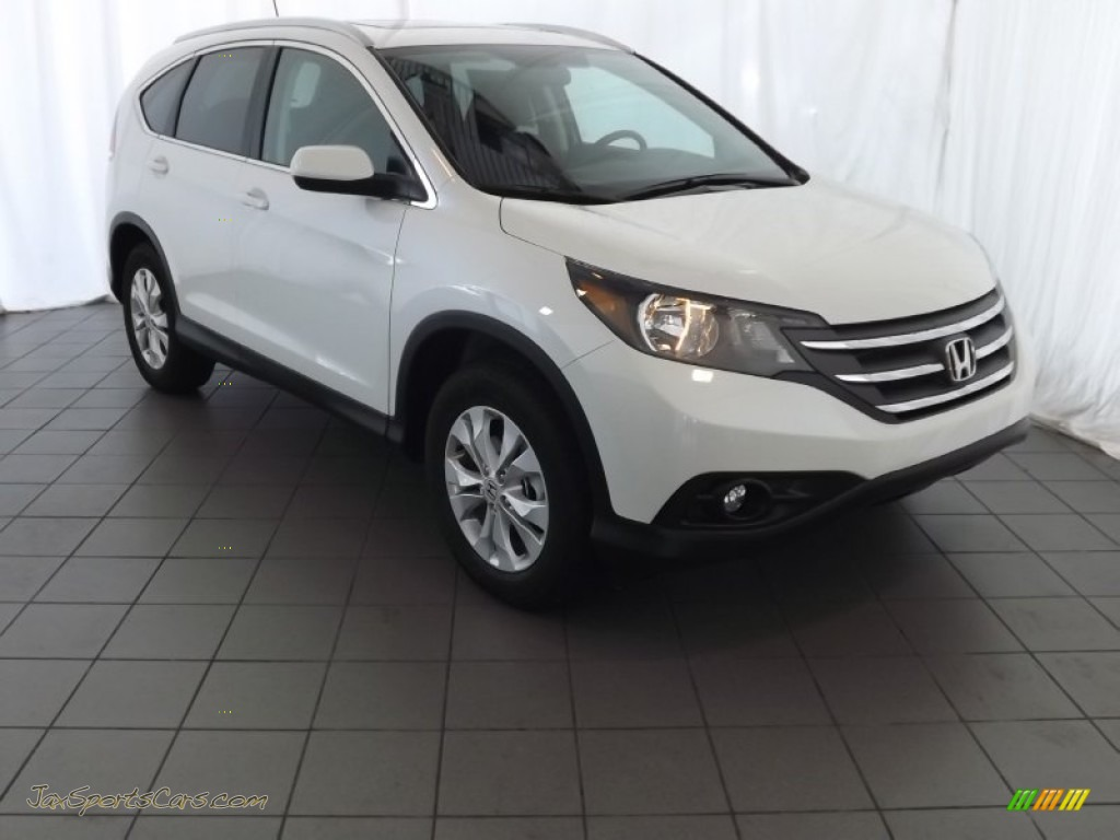 2014 Honda Cr V Ex L In White Diamond Pearl 001527 Jax