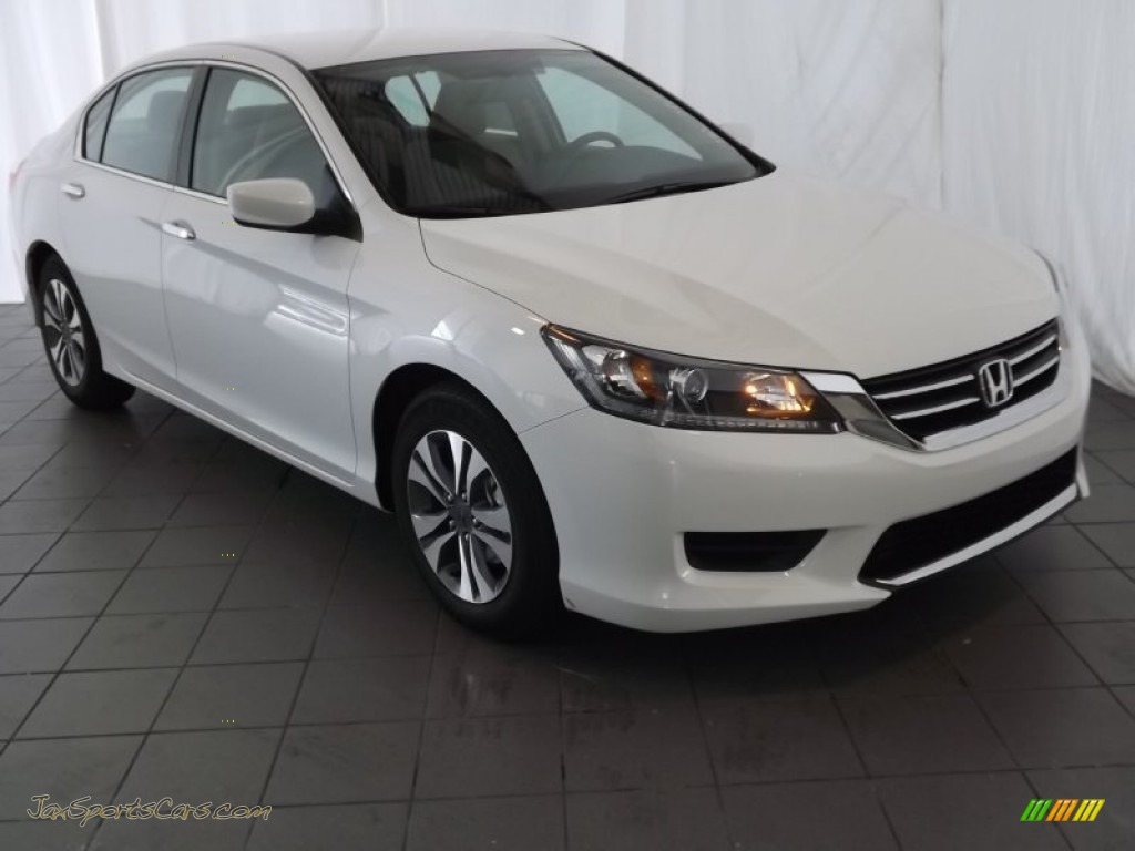 2013 honda accord lx sedan in white orchid pearl 279847 jax sports cars cars for sale in. Black Bedroom Furniture Sets. Home Design Ideas