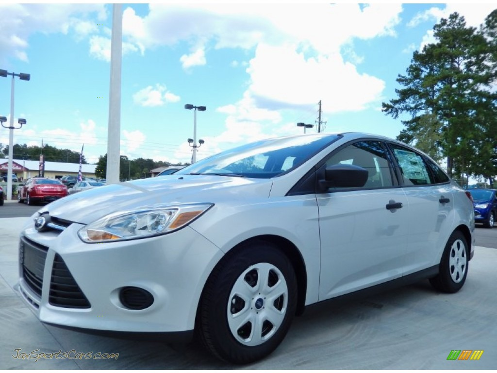 2014 ford focus s sedan in ingot silver 115489 jax sports cars cars for sale in florida. Black Bedroom Furniture Sets. Home Design Ideas