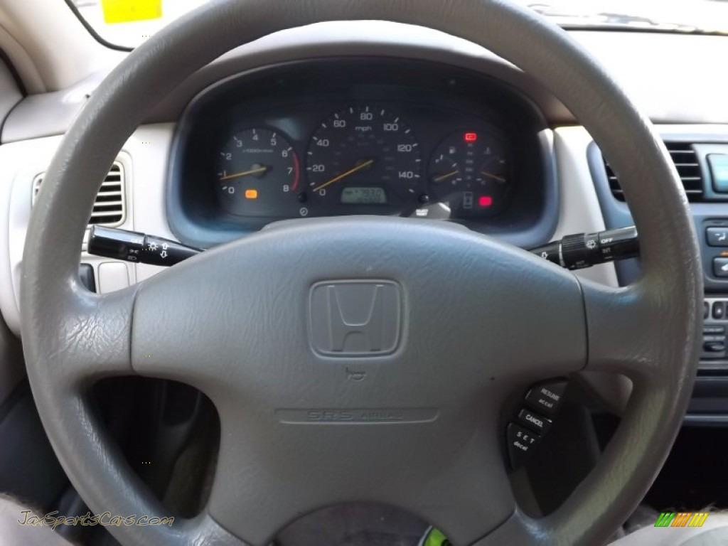 1999 Accord LX V6 Sedan - Taffeta White / Ivory photo #18