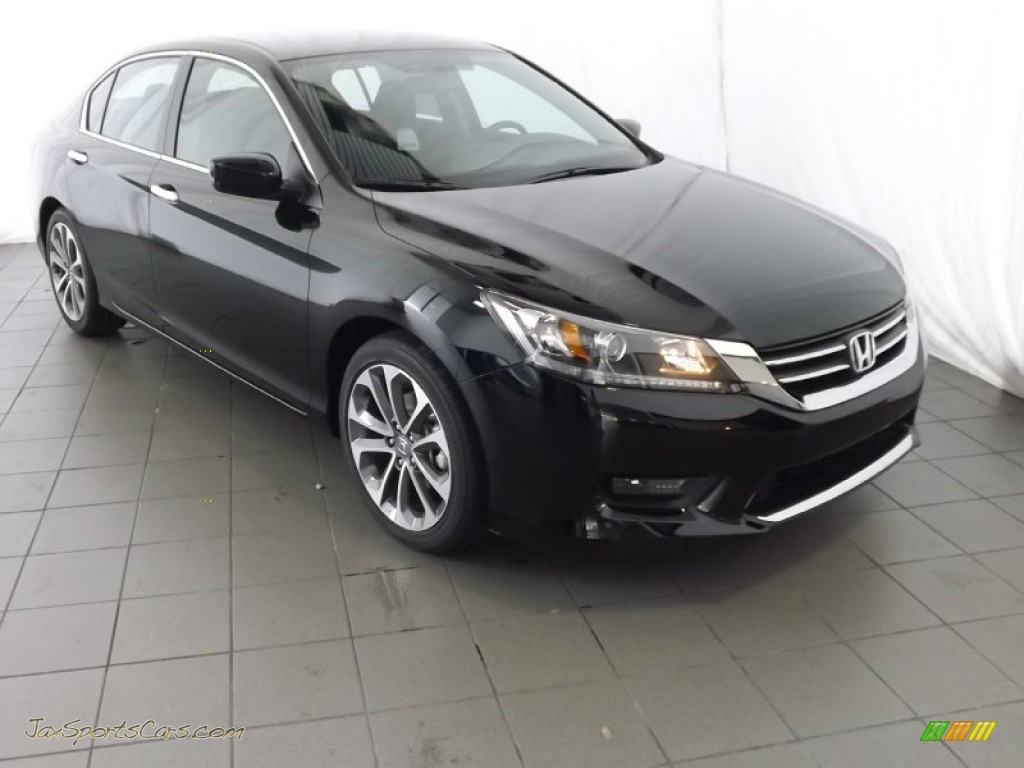 2014 Honda Accord Sport For Sale >> 2014 Honda Accord Sport Sedan in Crystal Black Pearl ...