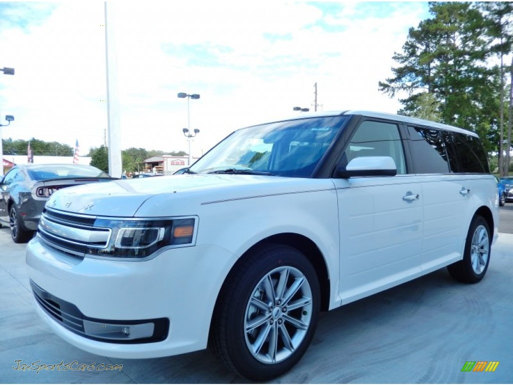2014 ford flex limited in white platinum d10209 jax sports cars cars for sale in florida. Black Bedroom Furniture Sets. Home Design Ideas