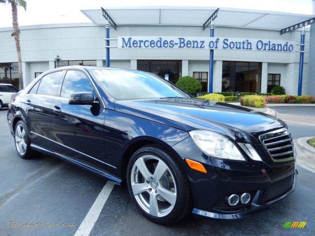 2010 mercedes benz e 350 sedan in capri blue metallic for Mercedes benz of south orlando orlando fl 32839