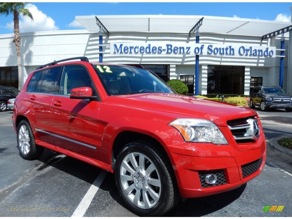 2012 mercedes benz glk 350 in mars red 894096 jax for 2012 mercedes benz glk350 for sale