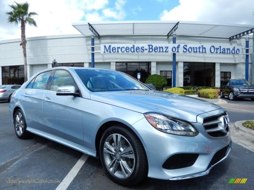 2014 mercedes benz e e250 bluetec sedan in diamond silver for Mercedes benz of south orlando orlando fl 32839
