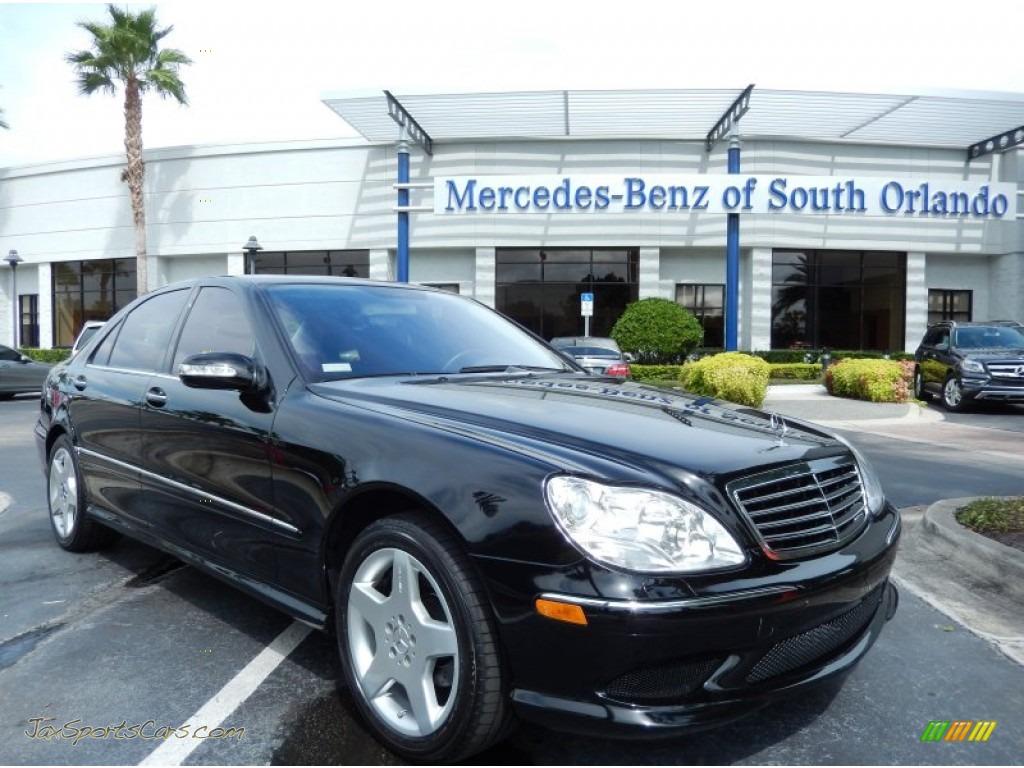 2004 mercedes benz s 430 sedan in black 431555 jax for Mercedes benz s 430