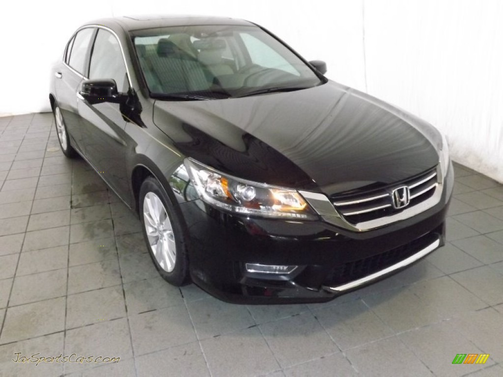 2013 honda accord ex l sedan in crystal black pearl. Black Bedroom Furniture Sets. Home Design Ideas