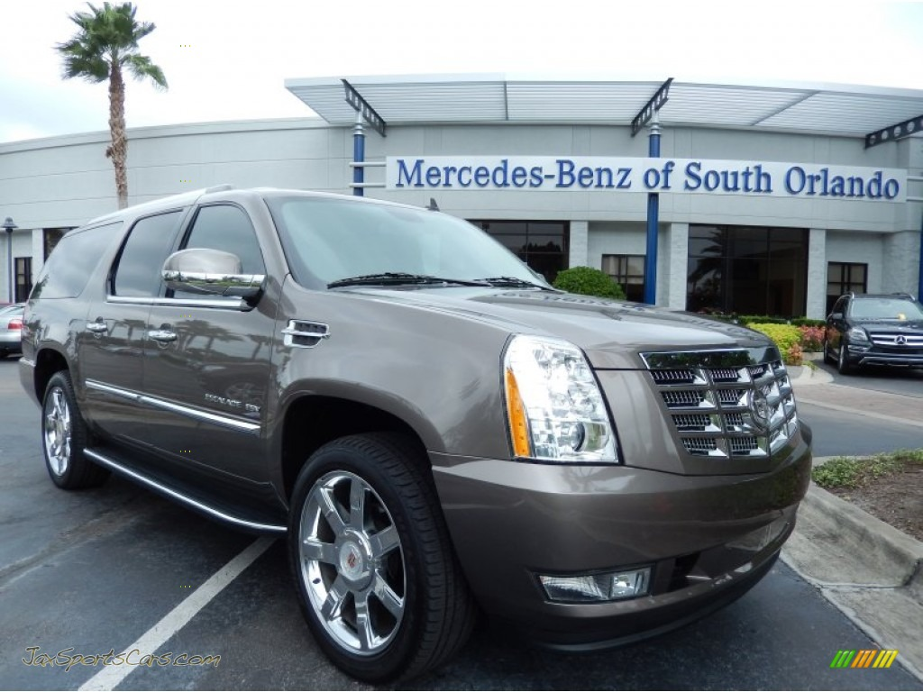 2012 cadillac escalade esv in mocha steel metallic. Black Bedroom Furniture Sets. Home Design Ideas