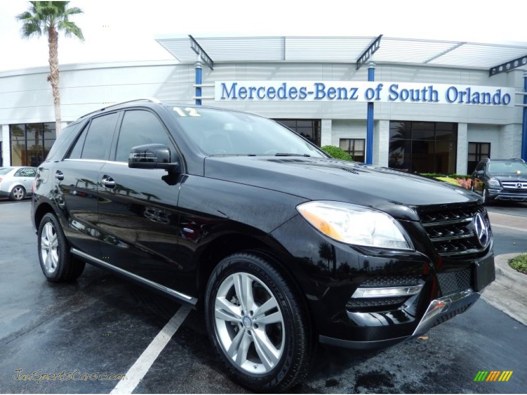2012 mercedes benz ml 350 4matic in black 070320 jax sports cars cars for sale in florida. Black Bedroom Furniture Sets. Home Design Ideas