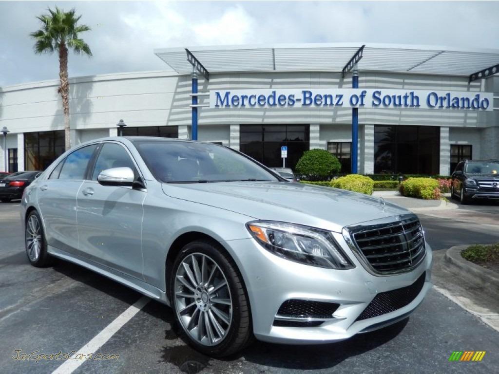 2014 mercedes benz s 550 sedan in iridium silver metallic for Mercedes benz of south florida