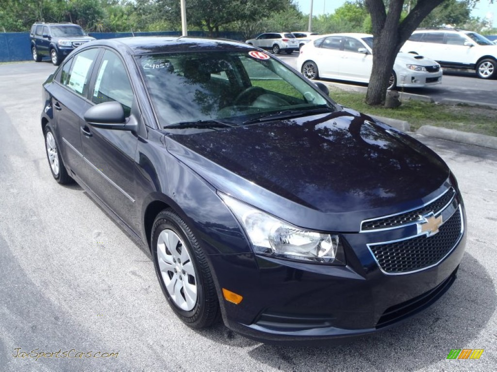 2014 chevrolet cruze ls in blue ray metallic 158665 jax sports cars cars for sale in florida. Black Bedroom Furniture Sets. Home Design Ideas