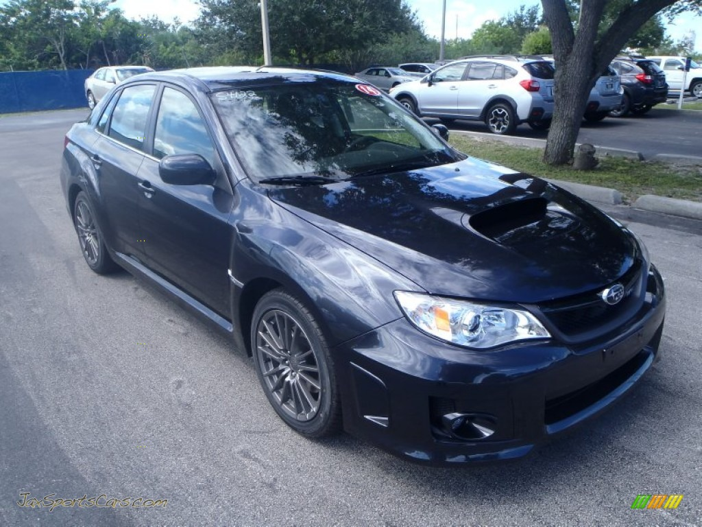 2014 subaru impreza wrx premium 4 door in dark gray metallic 003607 jax sports cars cars. Black Bedroom Furniture Sets. Home Design Ideas
