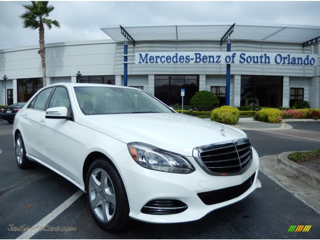2014 mercedes benz e 350 sedan in polar white 886193 jax sports cars cars for sale in florida. Black Bedroom Furniture Sets. Home Design Ideas