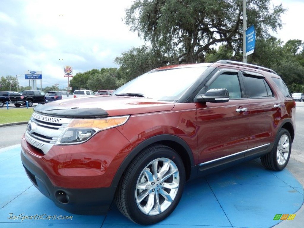 2014 ford explorer xlt in sunset a67874 jax sports cars cars for sale in florida. Black Bedroom Furniture Sets. Home Design Ideas