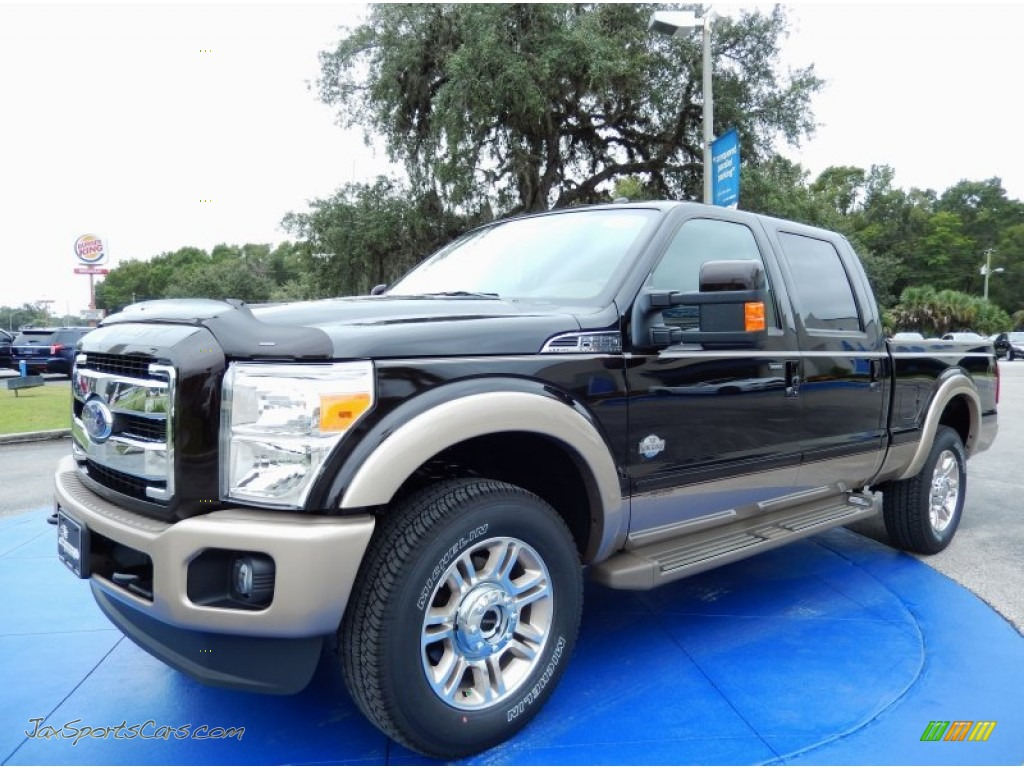 2014 Ford F250 Super Duty King Ranch Crew Cab 4x4 In Kodiak Brown Metallic A57848 Jax Sports