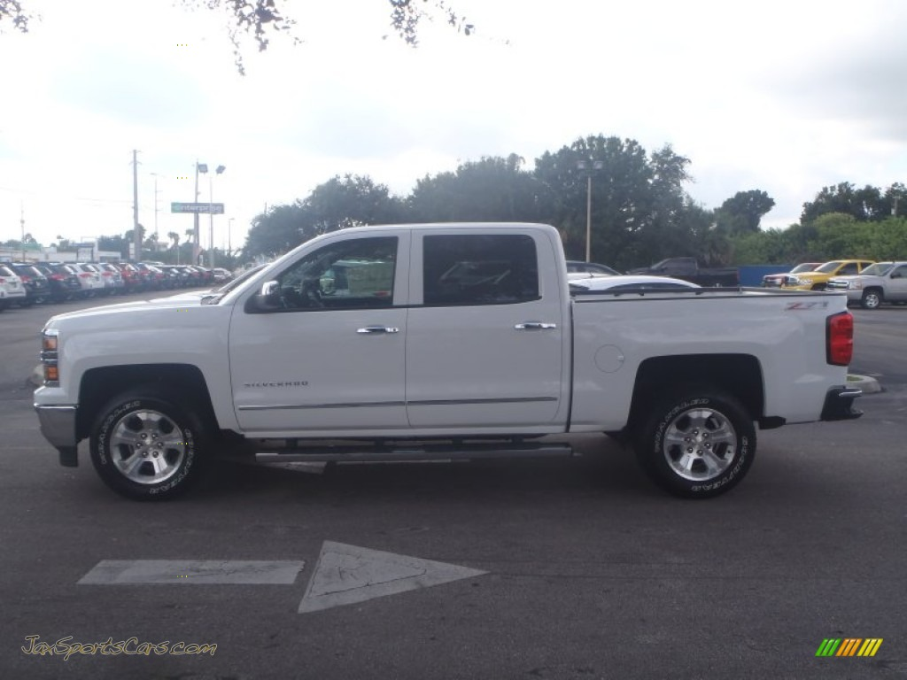 2014 chevrolet silverado 1500 ltz crew cab 4x4 in summit white photo 4 239139 jax sports. Black Bedroom Furniture Sets. Home Design Ideas
