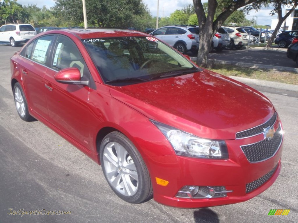 2014 chevrolet cruze ltz in crystal red tintcoat 198096 jax sports cars cars for sale in. Black Bedroom Furniture Sets. Home Design Ideas