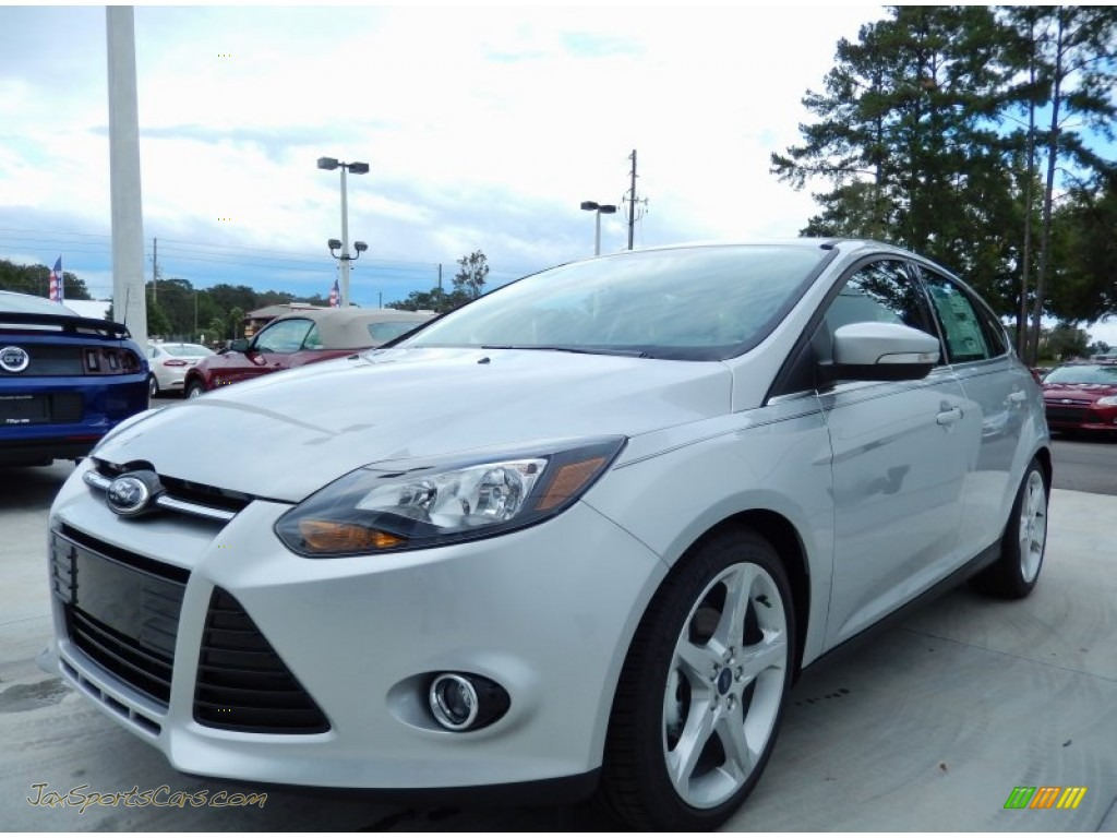 2014 ford focus titanium hatchback in ingot silver 180556 jax. Cars Review. Best American Auto & Cars Review