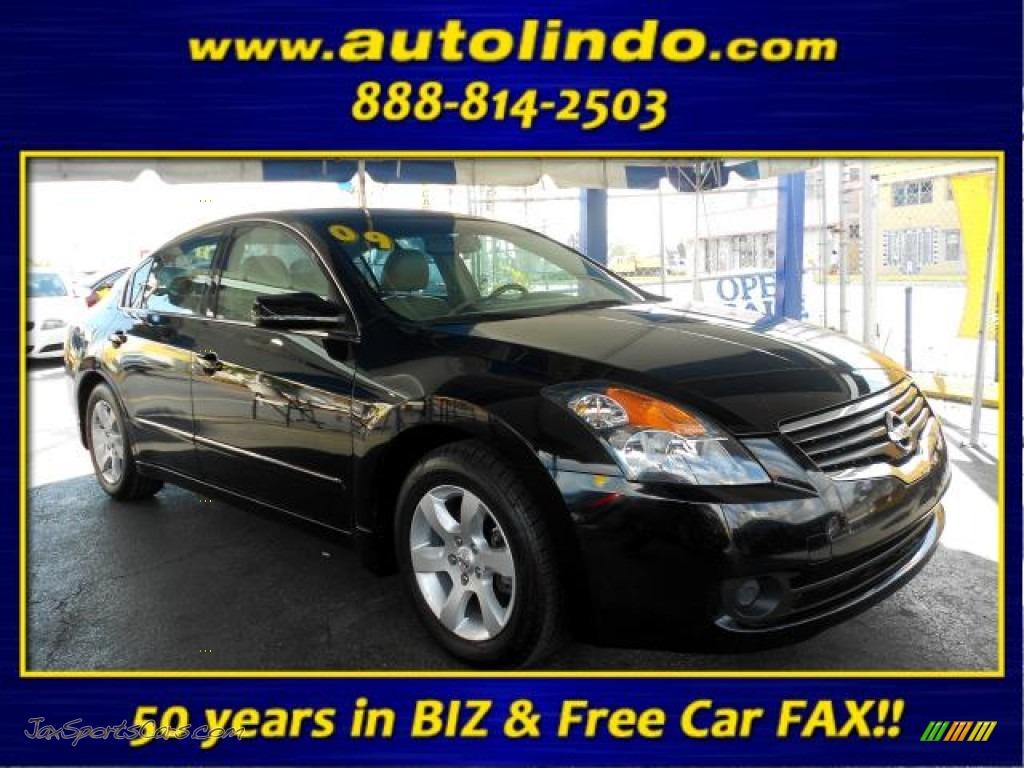2009 Nissan Altima 2 5 Sl In Super Black 542041 Jax Sports Cars Cars For Sale In Florida