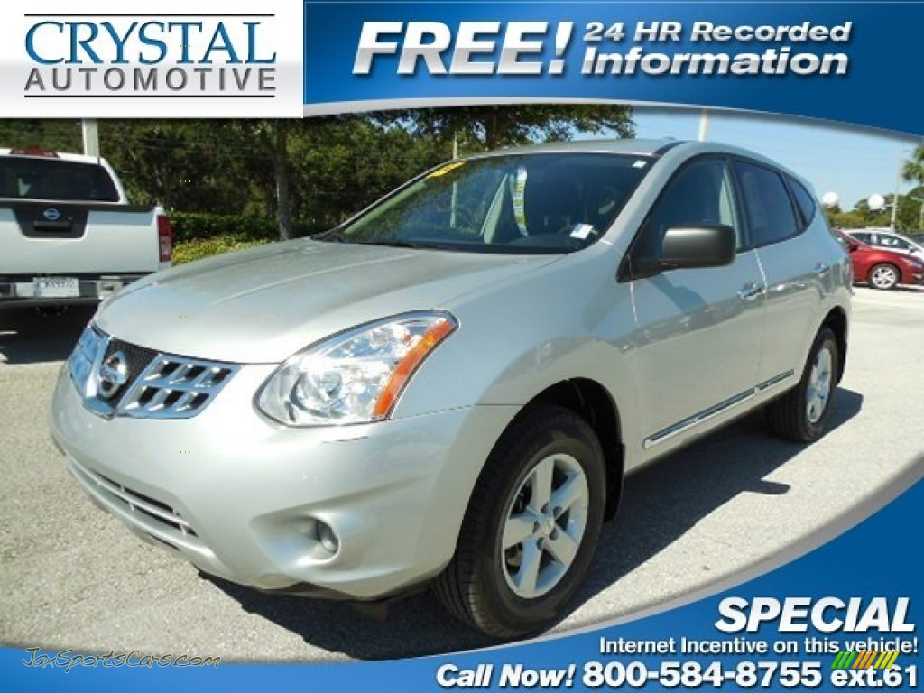 2012 nissan rogue s special edition in brilliant silver 604028 jax sports cars cars for. Black Bedroom Furniture Sets. Home Design Ideas