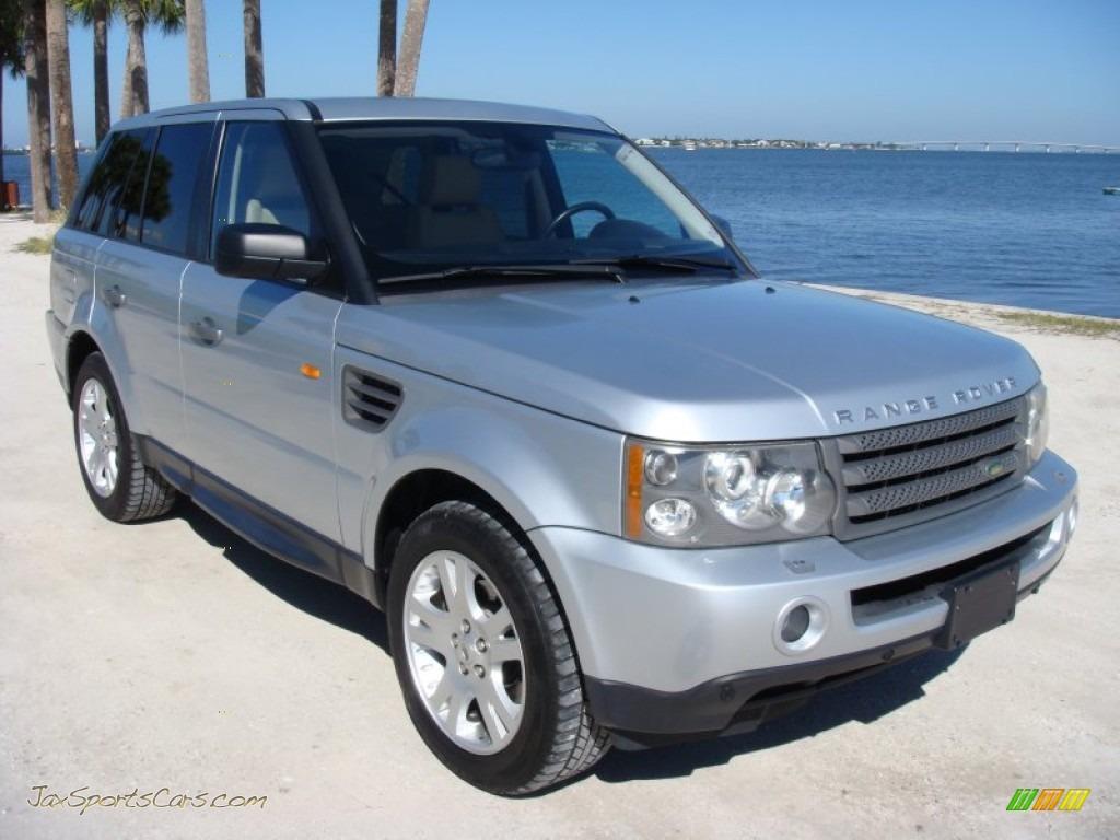 2006 land rover range rover sport hse in zambezi silver metallic 957459 jax sports cars. Black Bedroom Furniture Sets. Home Design Ideas