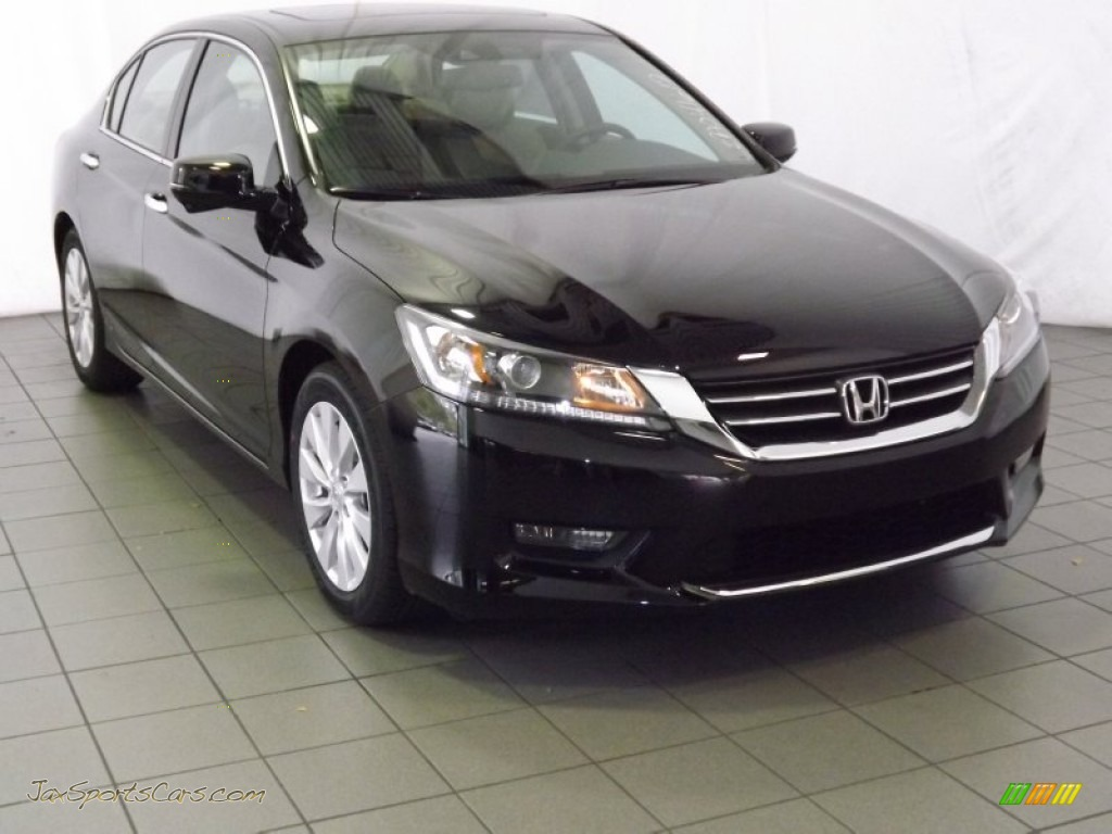 2014 Honda Accord Ex L Sedan In Crystal Black Pearl