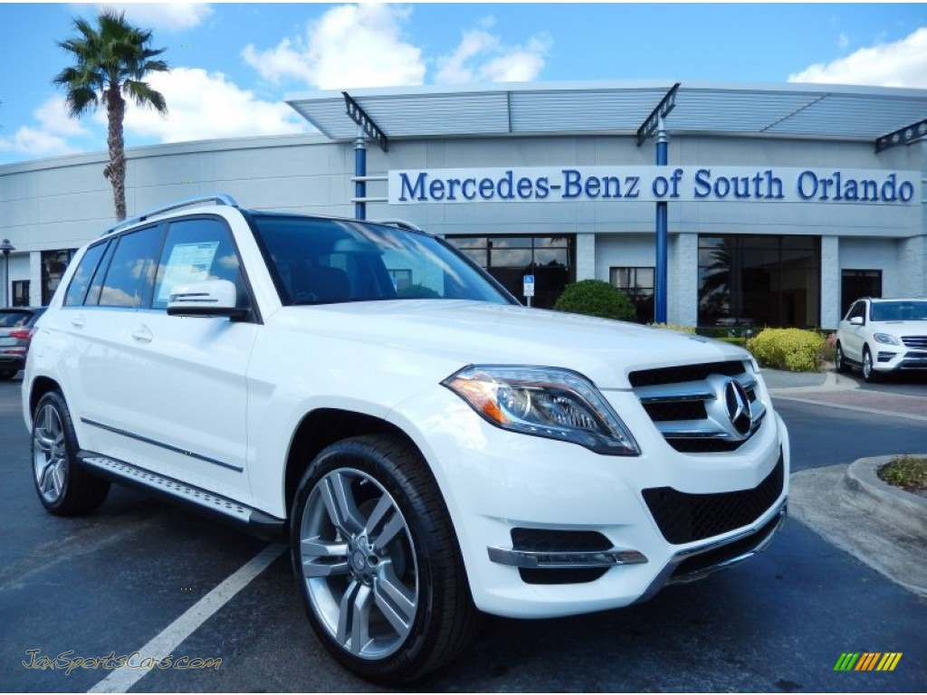 2014 mercedes benz glk 350 in polar white 220380 jax sports cars cars for sale in florida. Black Bedroom Furniture Sets. Home Design Ideas