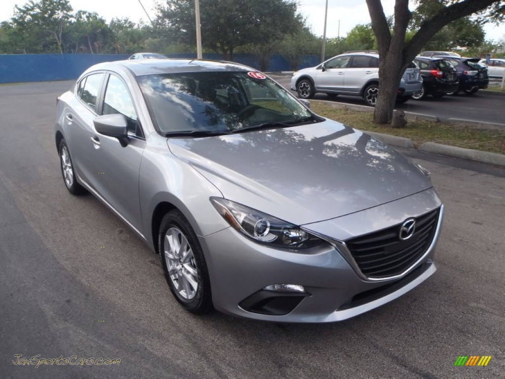 2014 Mazda MAZDA3 i Grand Touring 4 Door in Liquid Silver ...