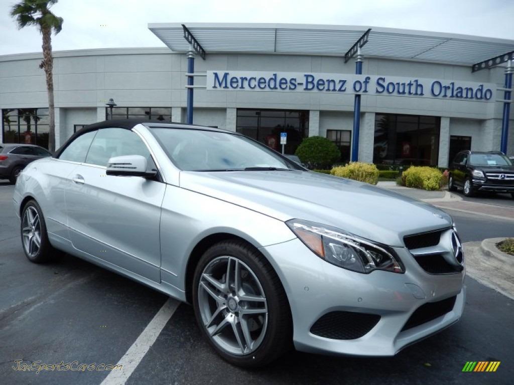 2014 mercedes benz e 350 cabriolet in iridium silver for Mercedes benz of south orlando