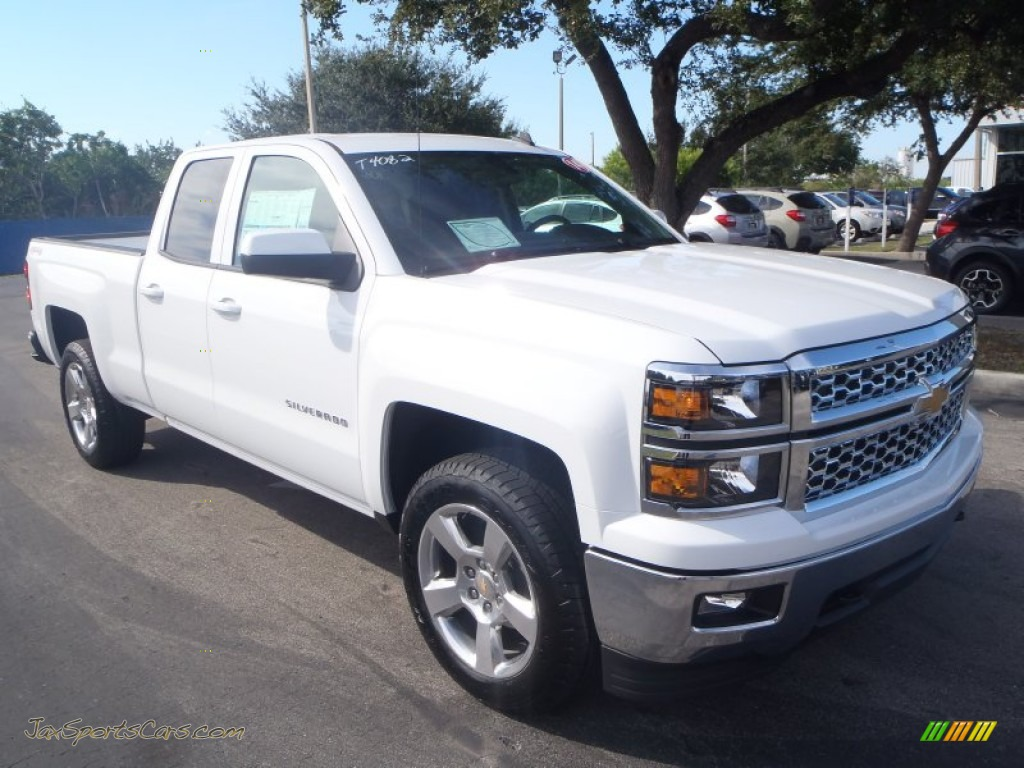 2014 chevrolet silverado 1500 lt double cab 4x4 in summit white 163443 jax sports cars. Black Bedroom Furniture Sets. Home Design Ideas