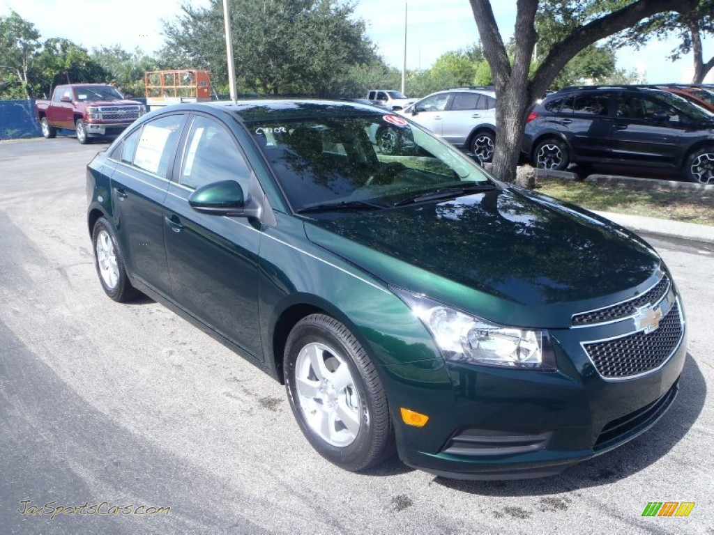 2014 chevrolet cruze lt in rainforest green metallic 202643 jax sports cars cars for sale. Black Bedroom Furniture Sets. Home Design Ideas