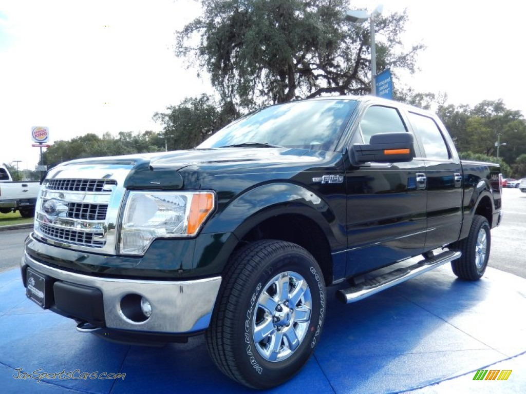 2014 ford f150 xlt supercrew 4x4 in green gem a07953 jax sports cars cars for sale in florida. Black Bedroom Furniture Sets. Home Design Ideas