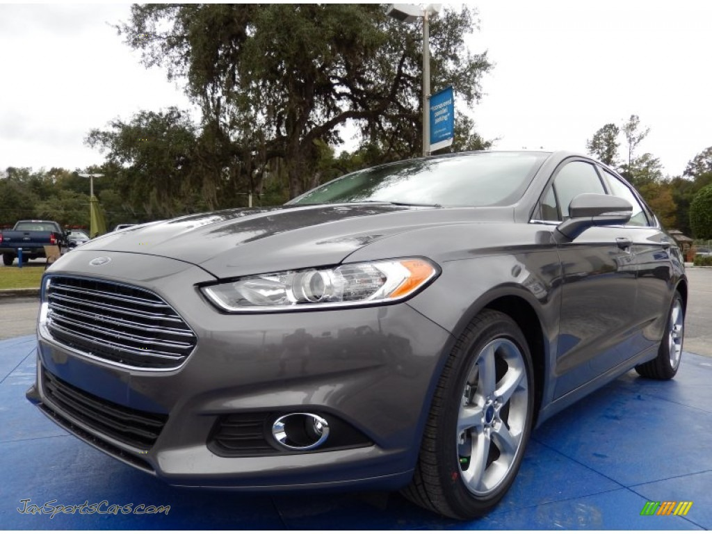 2014 ford fusion se ecoboost in sterling gray 206296 jax sports cars cars for sale in florida. Black Bedroom Furniture Sets. Home Design Ideas