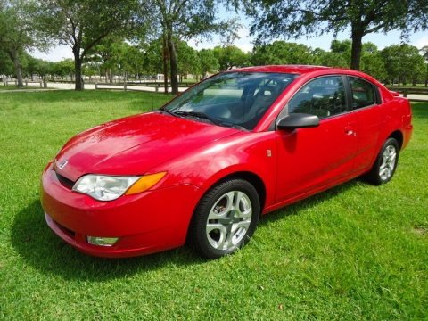1998 Saturn S Series Sc1 Coupe In Bright Red 294470