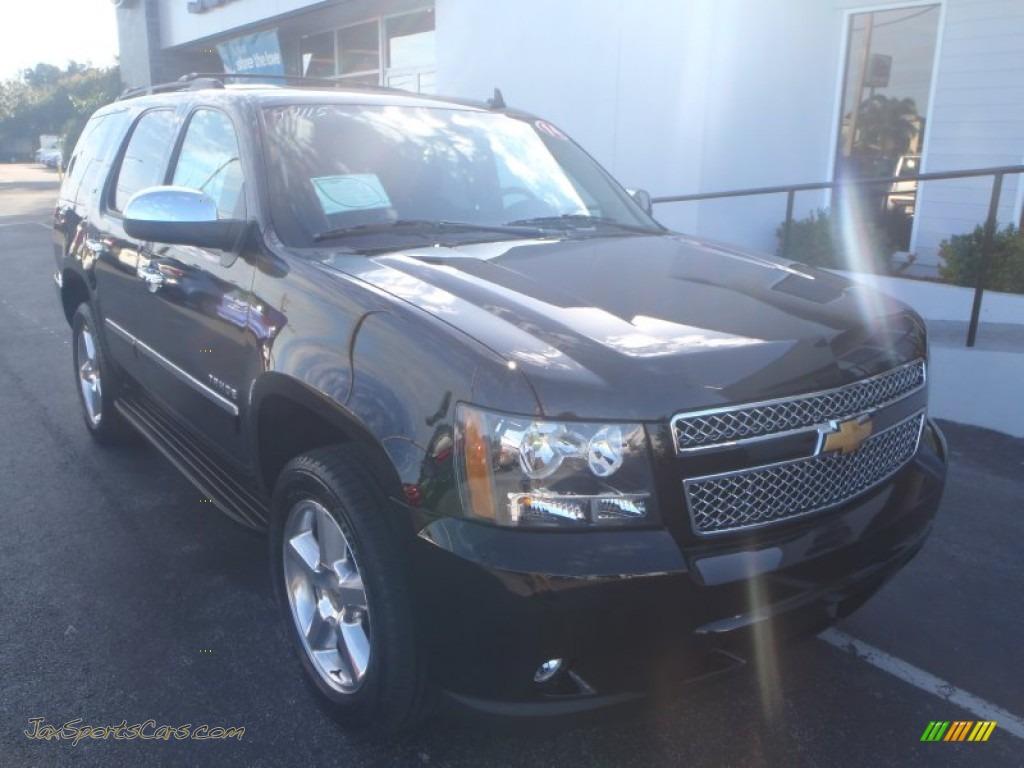 2014 chevrolet tahoe ltz 4x4 in black 226052 jax sports cars cars for sale in florida. Black Bedroom Furniture Sets. Home Design Ideas