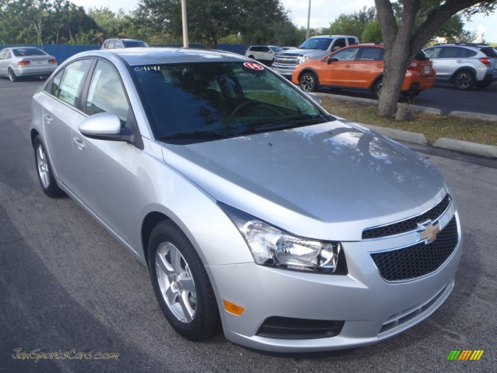2014 chevrolet cruze lt in silver ice metallic 228187 jax sports cars cars for sale in florida. Black Bedroom Furniture Sets. Home Design Ideas