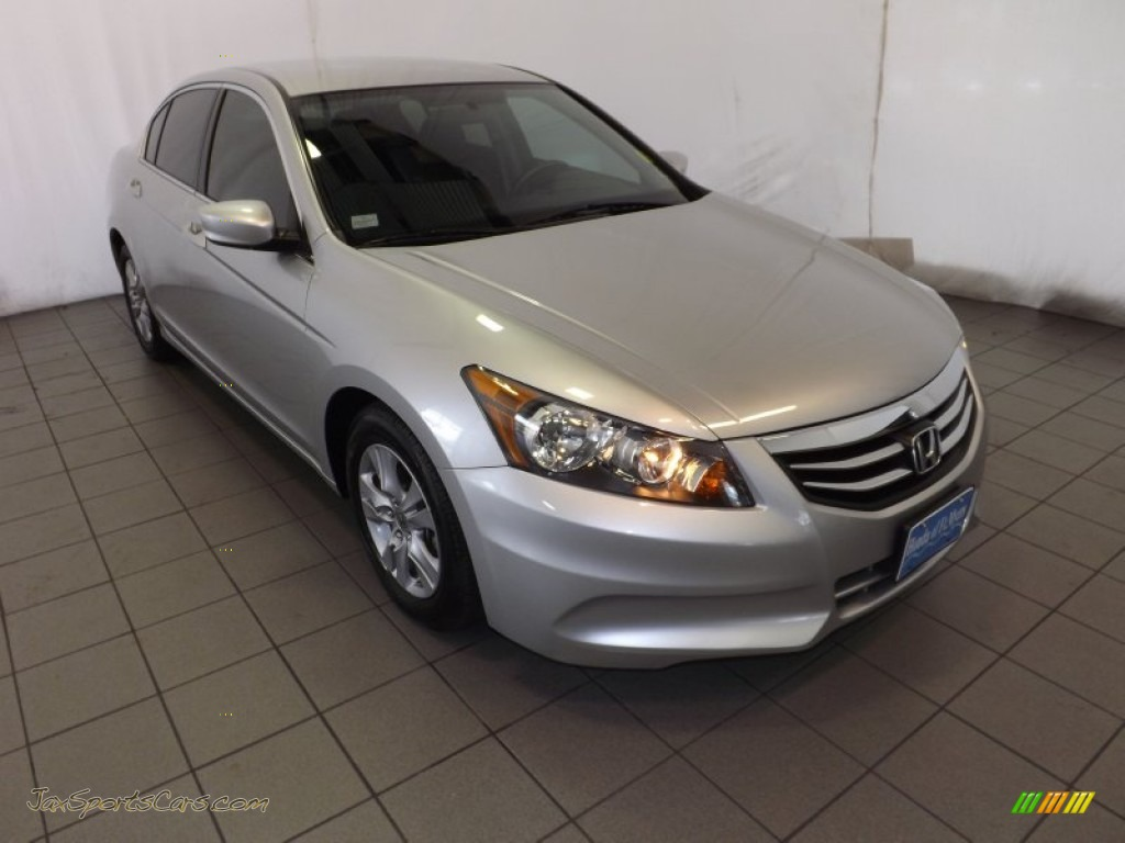 2011 Honda Accord Lx P Sedan In Alabaster Silver Metallic