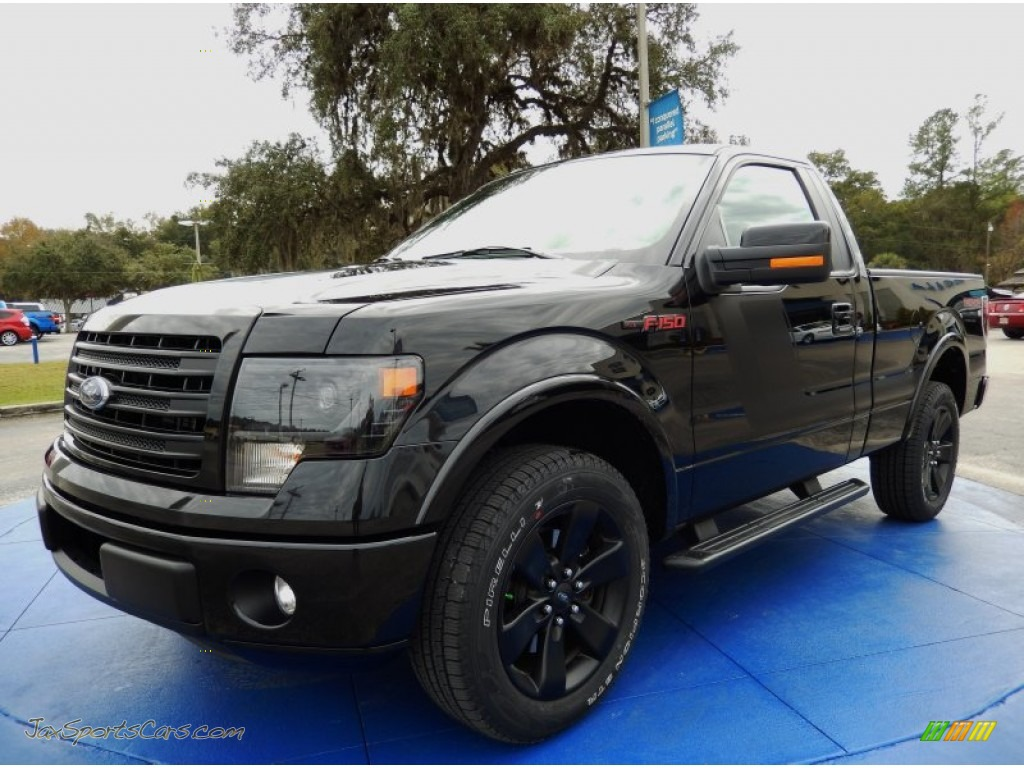 2014 ford f150 fx2 tremor regular cab in tuxedo black a41899 jax sports cars cars for sale. Black Bedroom Furniture Sets. Home Design Ideas