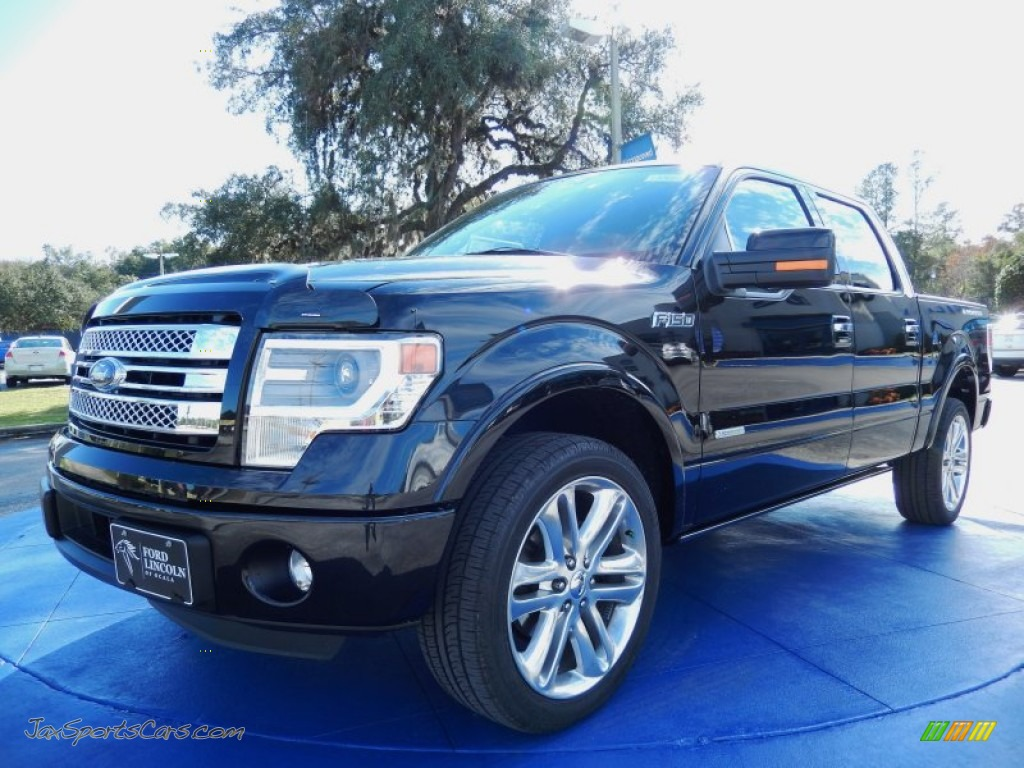2014 ford f150 limited supercrew in tuxedo black a59552 jax sports cars cars for sale in. Black Bedroom Furniture Sets. Home Design Ideas