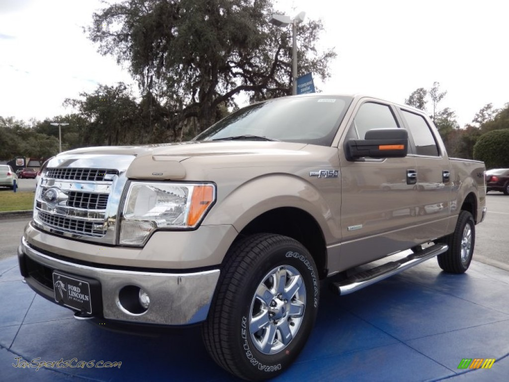 2014 ford f150 xlt supercrew 4x4 in pale adobe d23777 jax sports cars cars for sale in florida. Black Bedroom Furniture Sets. Home Design Ideas