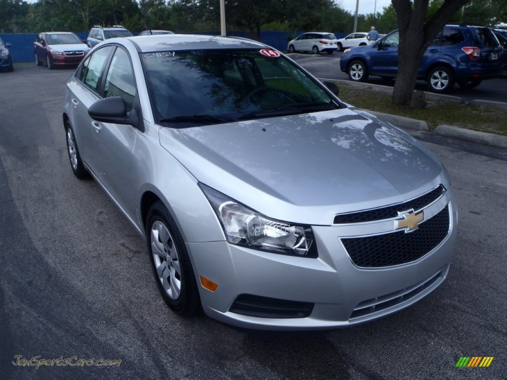 2014 chevrolet cruze ls in silver ice metallic 256119 jax sports cars cars for sale in florida. Black Bedroom Furniture Sets. Home Design Ideas