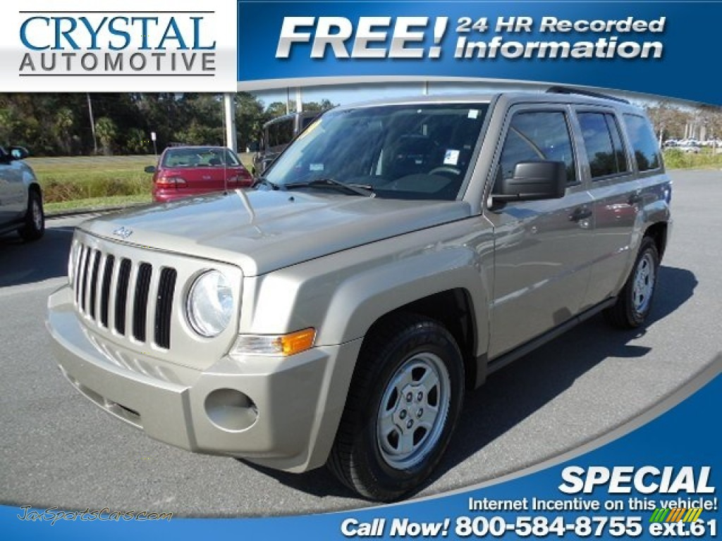 2009 Jeep Patriot Sport In Light Sandstone Metallic