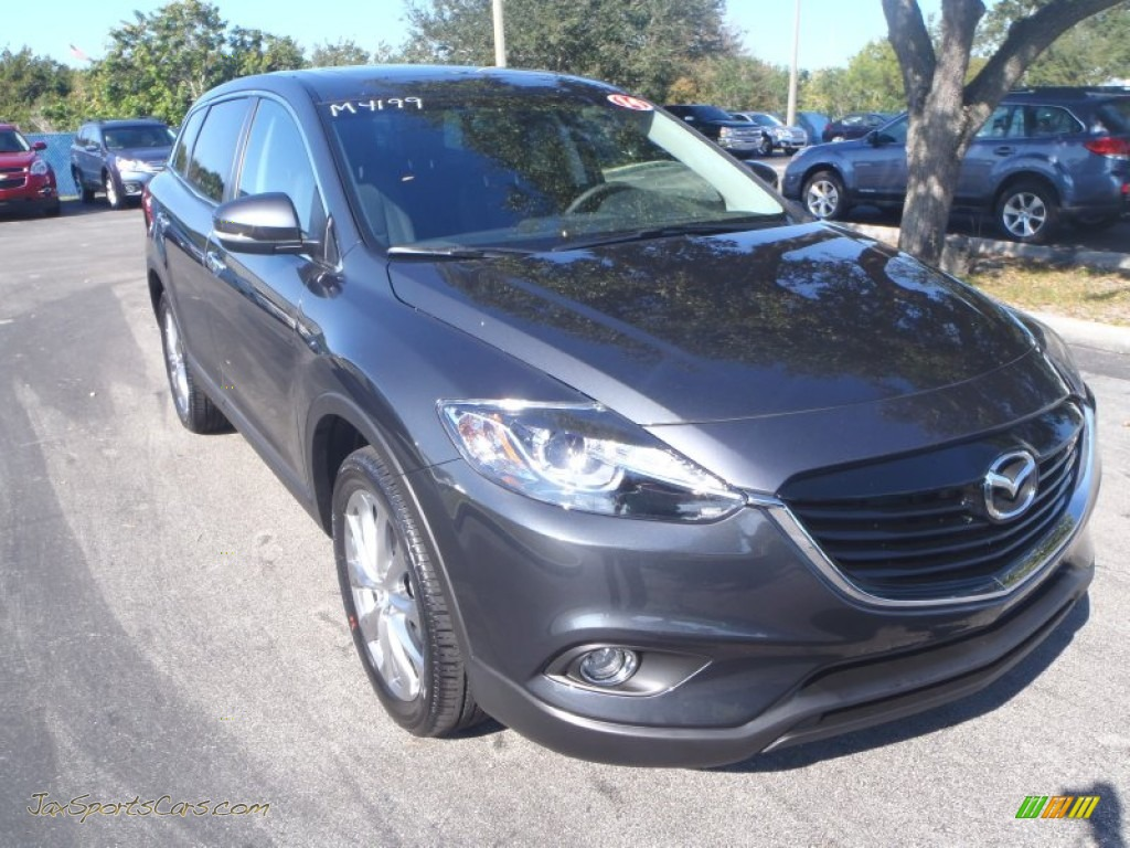 2014 mazda cx 9 grand touring in meteor gray mica 429085 jax sports cars cars for sale in. Black Bedroom Furniture Sets. Home Design Ideas