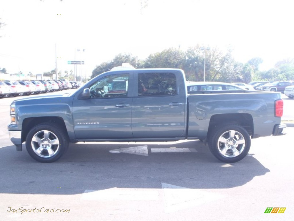 2014 chevrolet silverado 1500 lt crew cab in blue granite metallic photo 8 327778 jax. Black Bedroom Furniture Sets. Home Design Ideas