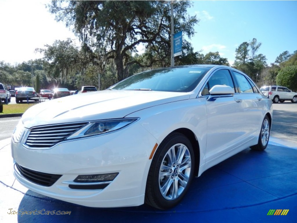 2014 lincoln mkz hybrid in white platinum 816069 jax sports cars cars for sale in florida. Black Bedroom Furniture Sets. Home Design Ideas