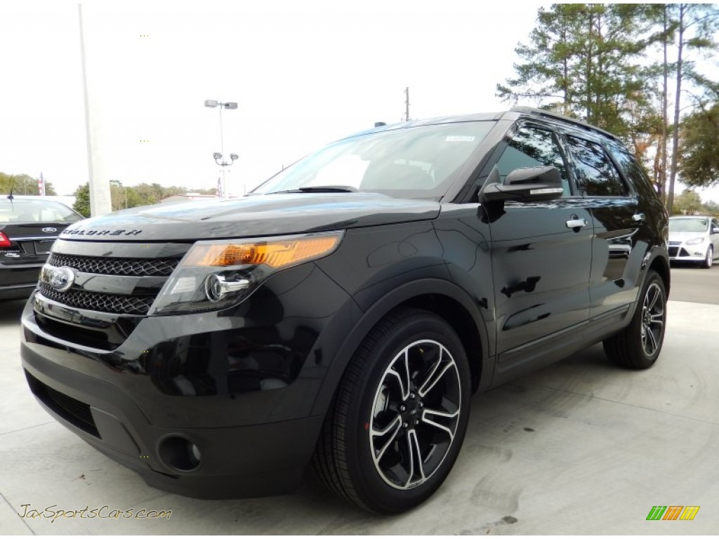 2014 ford explorer sport 4wd in tuxedo black b40761 jax sports cars cars for sale in florida. Black Bedroom Furniture Sets. Home Design Ideas