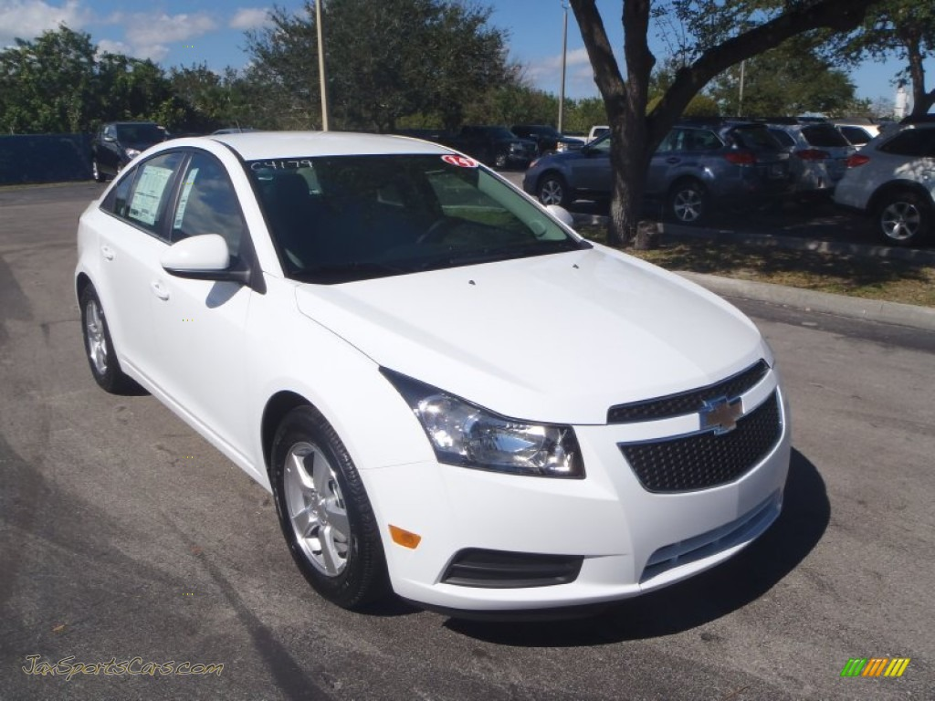 2014 chevrolet cruze lt in summit white 273698 jax sports cars cars for sale in florida. Black Bedroom Furniture Sets. Home Design Ideas