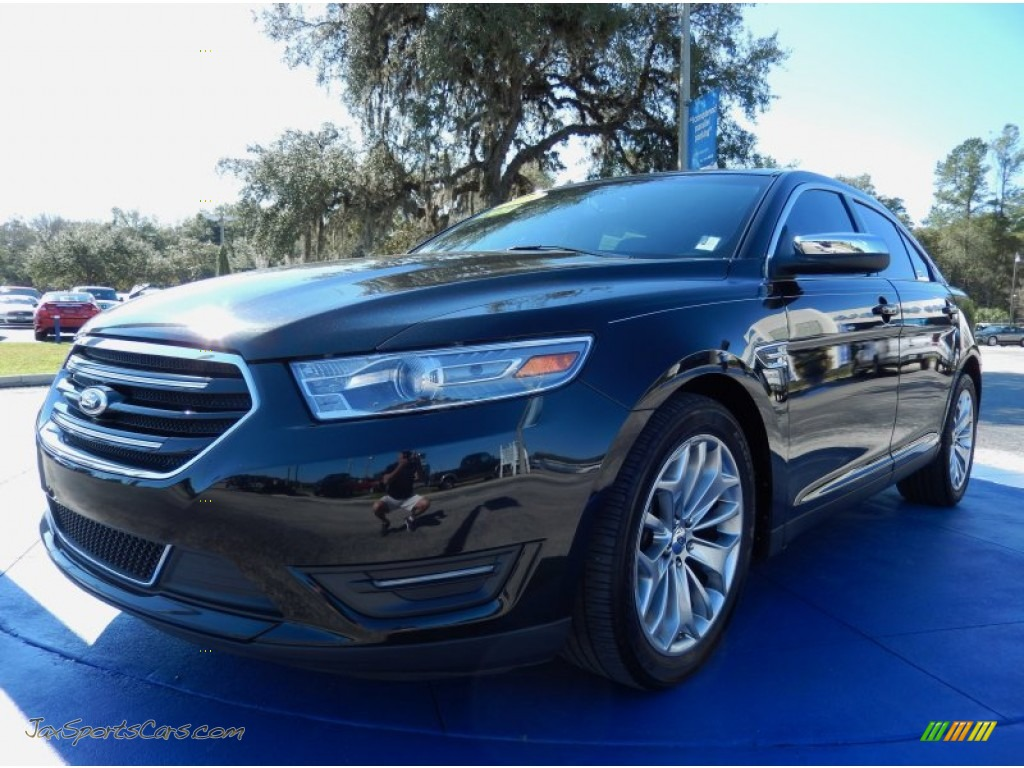 2013 ford taurus limited in tuxedo black metallic 148238 jax sports cars cars for sale in. Black Bedroom Furniture Sets. Home Design Ideas